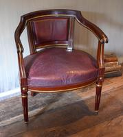 Pair of French Directoire Leather Armchairs (15 of 16)