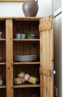 Tall Antique Pine Pantry Cupboard (8 of 15)