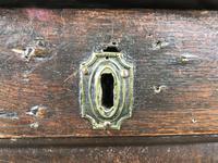 Antique 18th Century Oak Coffer (7 of 16)