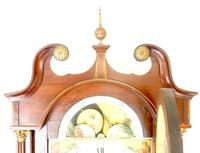 Fine English Longcase Clock Radcliff Elland 8-day Grandfather Clock with Moon Roller Dial (20 of 27)