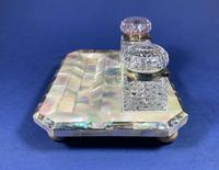 Victorian Mother of Pearl & Abalone Inkstand (8 of 15)