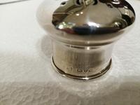 Fine Quality Silver & Cut Glass Powder Bowl (5 of 6)