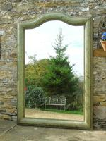 Beautiful 19th Century French Hand Painted Mirror (5 of 8)