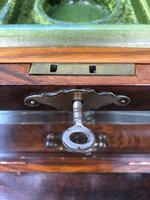 Antique Burr Walnut Ladies Jewellery Box (7 of 9)