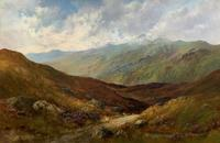 (1of2) Huge Exceptional 19thc Snowdonia Welsh Mountain Landscape Oil Painting (11 of 15)