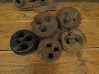 Antique Maritime Ship Deadeye Rigging Blocks & Scupper Ports, Old Wreck Salvage (13 of 13)