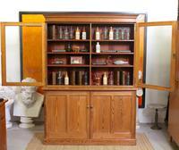 Oak Pine School Cabinet 19th Century (8 of 12)