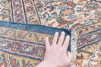 Fine antique Sultanabad carpet 365x263cm (5 of 5)
