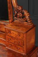 Victorian Figured Walnut Dressing Table (14 of 17)
