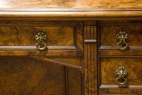 C1890 Burr Walnut Maple & Co Dressing Table (3 of 5)