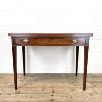 19th Century Mahogany Fold Over Tea Table (2 of 12)