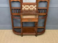 Large Victorian Walnut Hall Stand by James Shoolbred and Co. (9 of 17)
