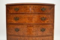Georgian Style Burr Walnut Chest of Drawers (3 of 12)