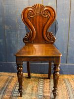 Pair of 19th Century Regency Style Hall Chairs (5 of 10)