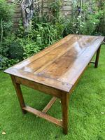 18th Century Cherrywood Farmhouse Table (2 of 9)