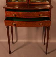 A Late Victorian Salon Cabinet Satinwood (6 of 8)