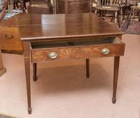 Mahogany Tea Table with Fold-Over Top (4 of 4)