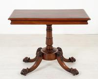 William IV Mahogany Side Table (3 of 6)