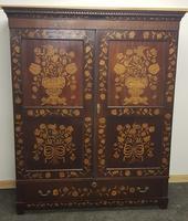 18th / 19th Century Inlaid Dutch Wardrobe (17 of 17)