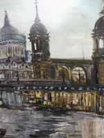 Large Oil on Board The Thames Listed Artist Sheila Appleton (6 of 12)