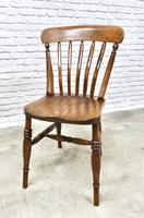 Pair of Windsor Lath Back Chairs (6 of 6)