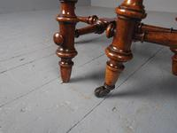 Antique Pair of Red Walnut Stools (10 of 11)