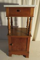 French Marble Toped Pot Cupboard Early 20th Century (5 of 14)