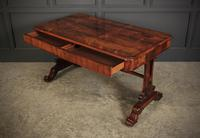 William IV Rosewood Library Table Desk (10 of 17)