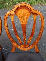1960's Mahogany Pull Out Table with Set of 6 Dining Chairs.4+2 Carvers (8 of 14)