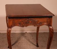 Small Louis XV Table In Oak -18 ° Century (6 of 10)
