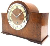 Good Arched Top Art Deco Mantel Clock – Musical Westminster Chiming 8-day Mantle Clock (11 of 11)