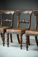 6 William IV Walnut Dining Chairs (8 of 9)