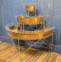 Antique Wire Plant Stand / Conservatory Planter (2 of 10)