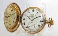 Antique Thomas Russell Full Hunter Pocket Watch