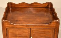 Mahogany Late 18th Century Bedside Cupboard (6 of 8)