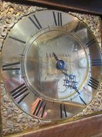 Small George II Period Antique Cottage Longcase Clock (6 of 8)