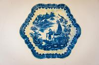 18th Century Worcester Teapot Stand (3 of 4)