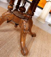 Walnut Marquetry Breakfast Table 19th Century (2 of 10)