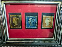 Penny Black and two other stamps framed (3 of 4)