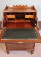 Antique Mahogany Small Bureau Writing Desk (7 of 11)