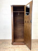 Early 20th Century Antique Oak Hall Cupboard (6 of 9)