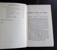 1922 1st Edition  Secret Sects of Syria   & The Lebanon By Bernard Springett (3 of 4)