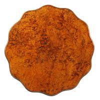 Victorian Figured Oak Tripod Table (3 of 8)
