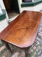 Antique Mahogany Side Table Desk (4 of 11)