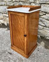 Antique Victorian Satinwood Bedside Pot Cupboard (8 of 16)