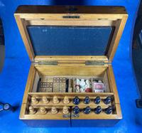 Victorian Pine Partially Fitted Games Box (11 of 32)