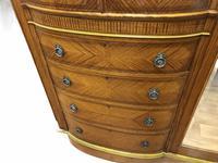Edwardian Inlaid Satinwood Wardrobe (5 of 30)