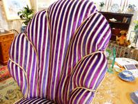 Unusual French 19th Century Upholstered Child's Chair (6 of 7)