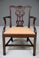 Georgian Mahogany Carver Chair (8 of 12)