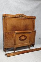 Fab Burr Walnut French Double Bed